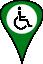 Wheelchair User icon