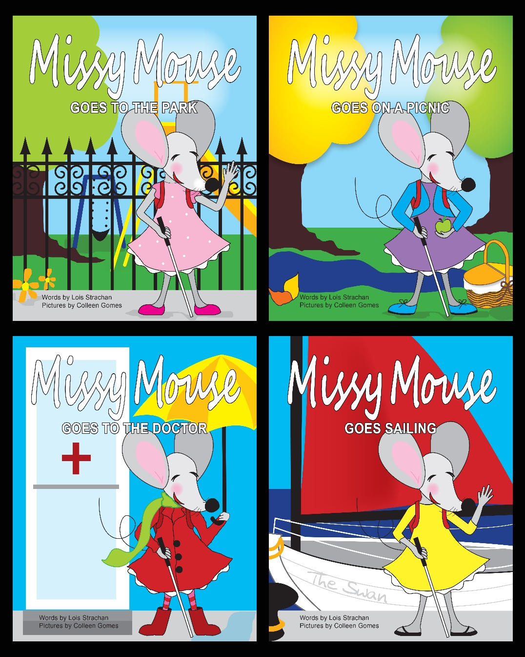 Missy Mouse Lois Strachan