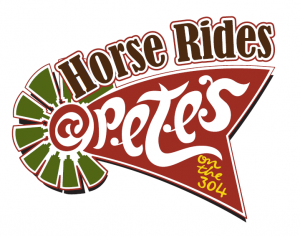 Horse Rides at Petes Logo 300x236